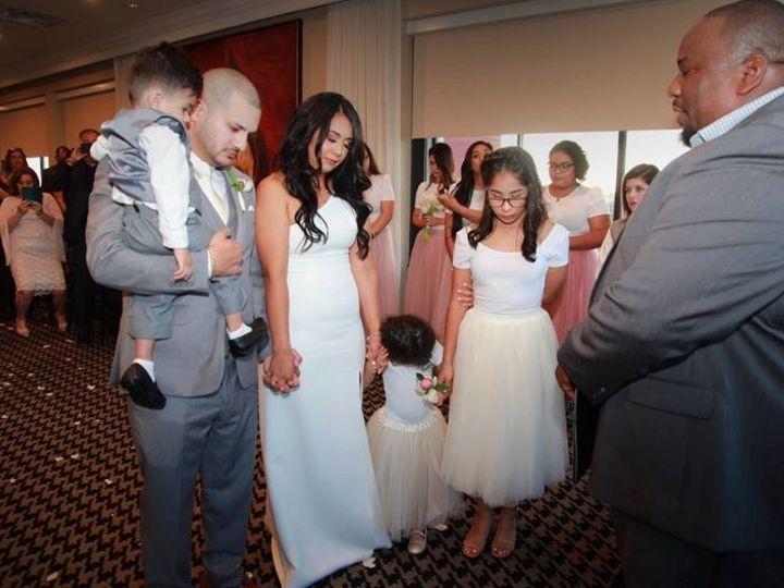 Tmx 1535950559 63a0f50a71fe4cb3 1535950558 9c8672b97146d5d2 1535950556884 2 Luis And Marti And Magnolia, TX wedding officiant