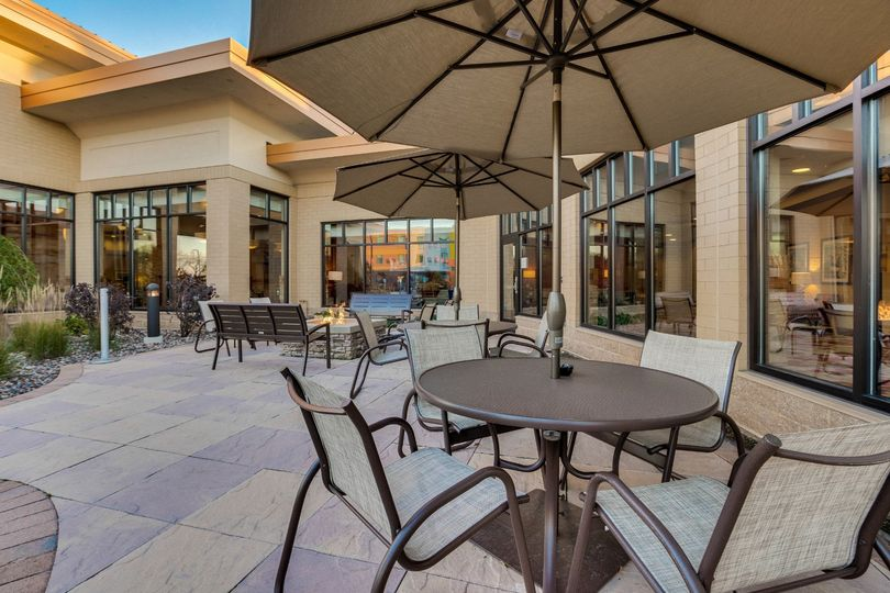 Patio outside Meeting Space