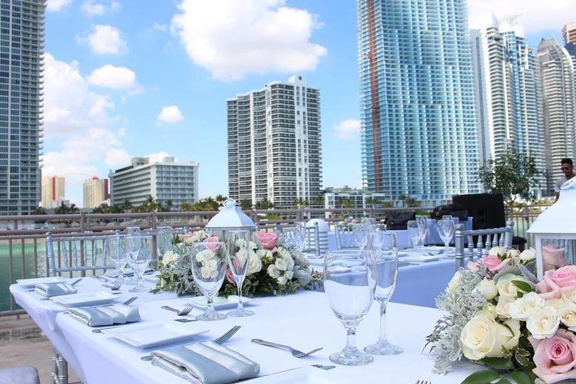 Miami Beach Pier Reception
