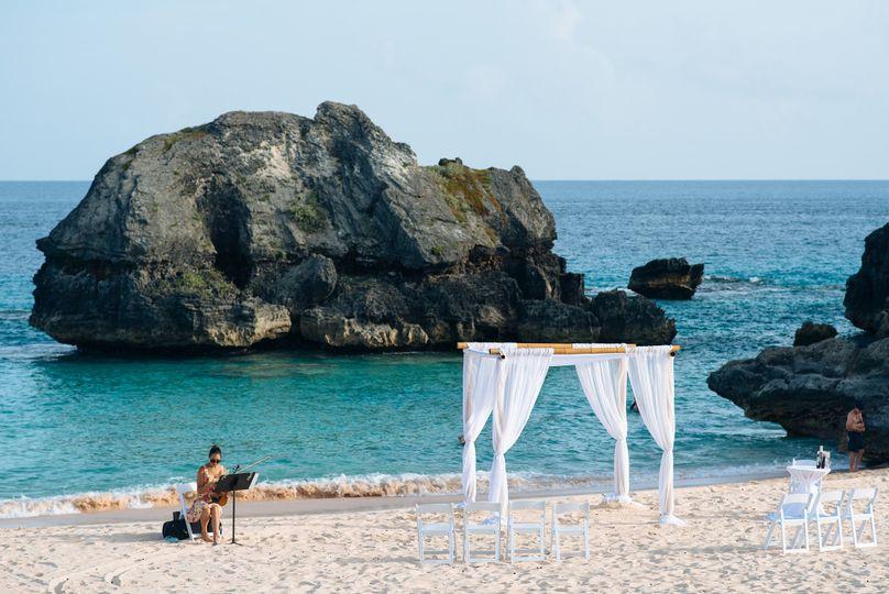 Warwick Long Bay Bermuda Destination wedding