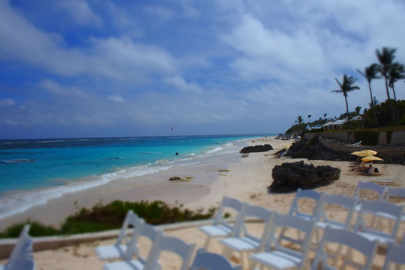 Coco reef bermuda destination wedding upper beach