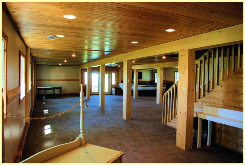 barn main reception area