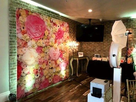 Photobooth Rental 3D backdrop