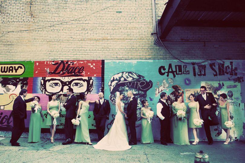 Urban Bridal Party