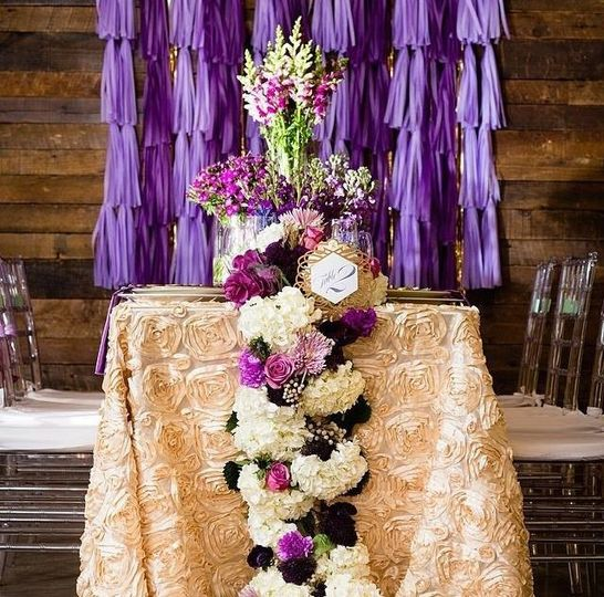 Couple's tablescape