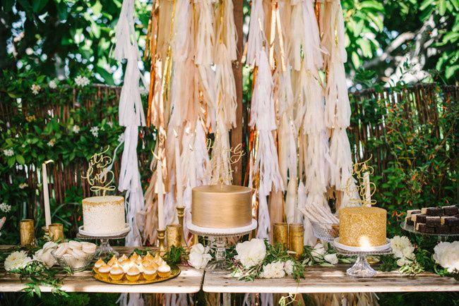 Wedding cakes area