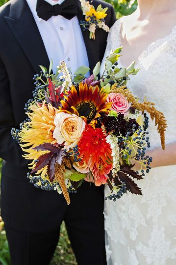 heron hill winery wedding flowers by stacy k flora