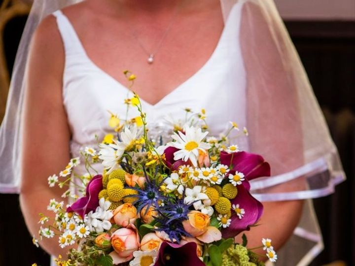 Tmx 1414165514512 Kipkelly Kracke Stacy K Floral Green Purple Yellow Rochester wedding florist