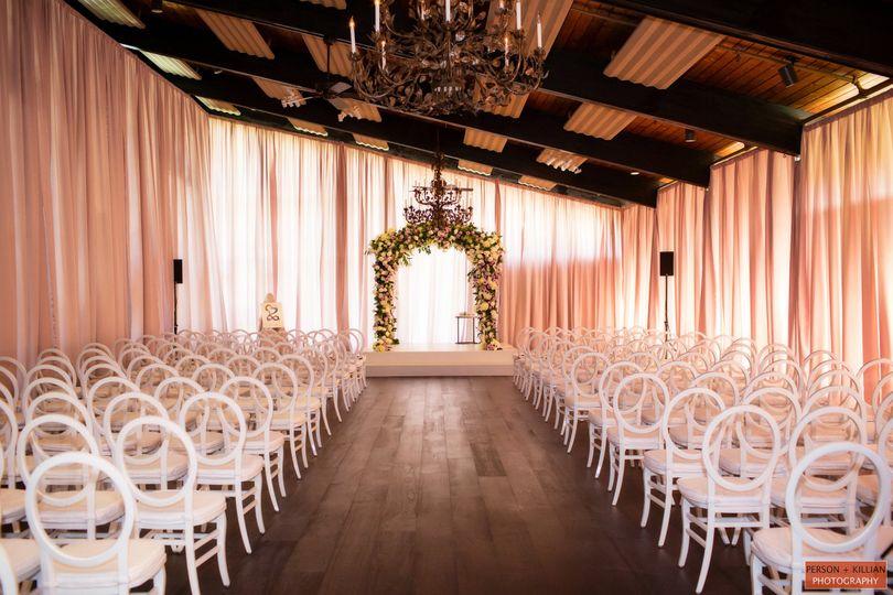 Rented Indoor Ceremony