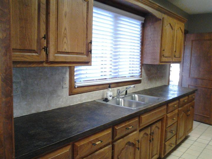 Sink and kitchen