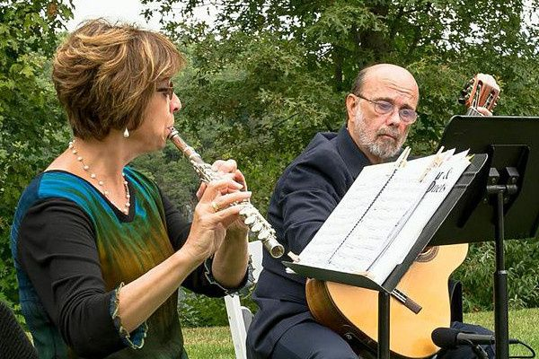 Flute  and guitar