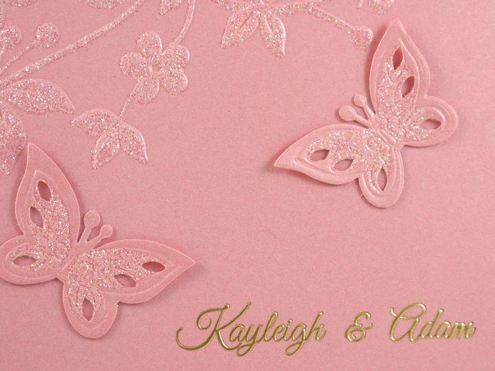 Tmx 1496881574754 All Aflutter B Wakefield, Massachusetts wedding invitation