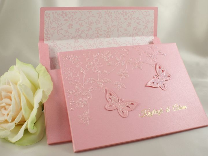 Tmx 1496881785115 All Aflutter C Crop Wakefield, Massachusetts wedding invitation