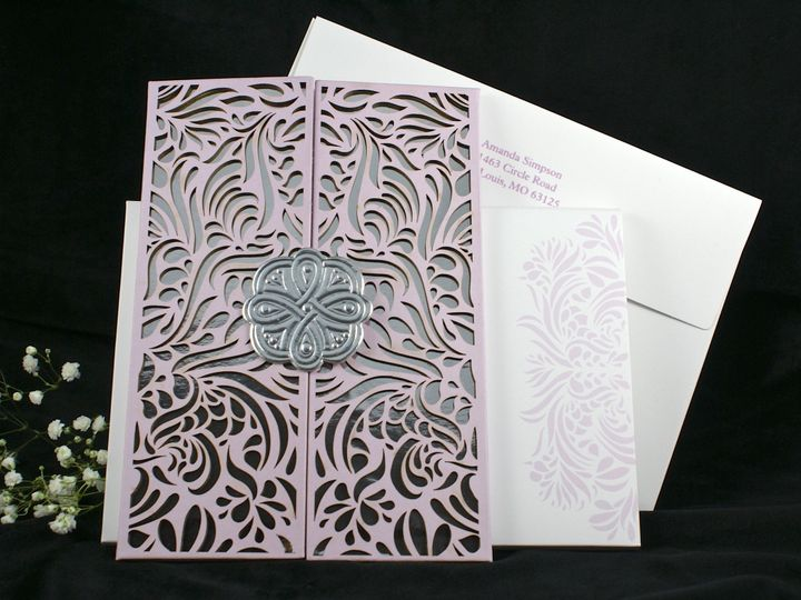 Tmx 1496882280427 Reflections Of Love F Wakefield, Massachusetts wedding invitation