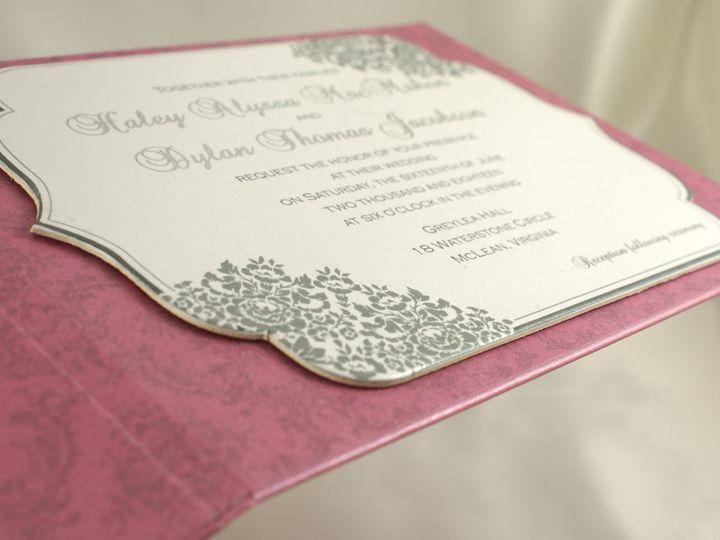 Tmx 1496882854039 French Kiss D Wakefield, Massachusetts wedding invitation