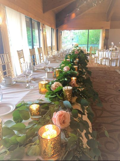 Head Table Kemper Lakes