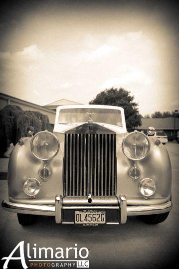 Our beautiful Rolls Royce.