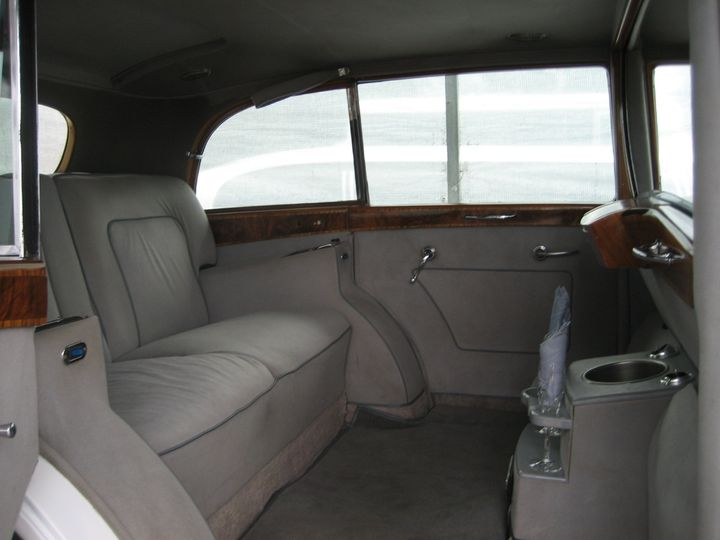 Large interior of the Rolls.