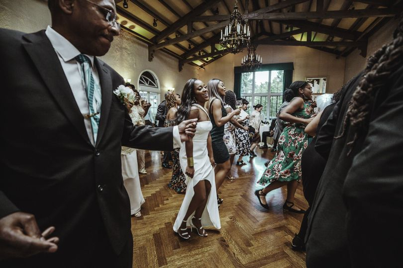 Reception dance floor
