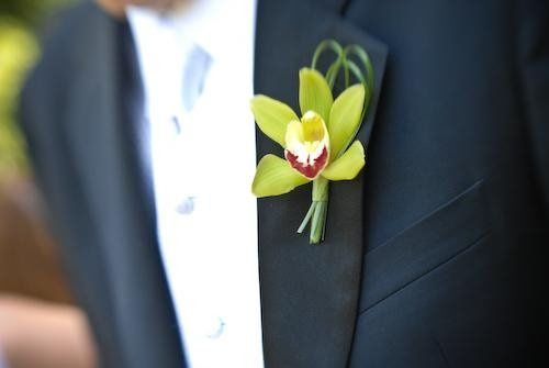 Boutonniere | Red Fish, Blue Fish Photography