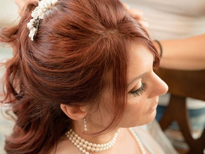 Tmx 1514934501 9038877a85c13a22 Dawn Bride Close Up Face And Hair Lashes Denville, New Jersey wedding beauty