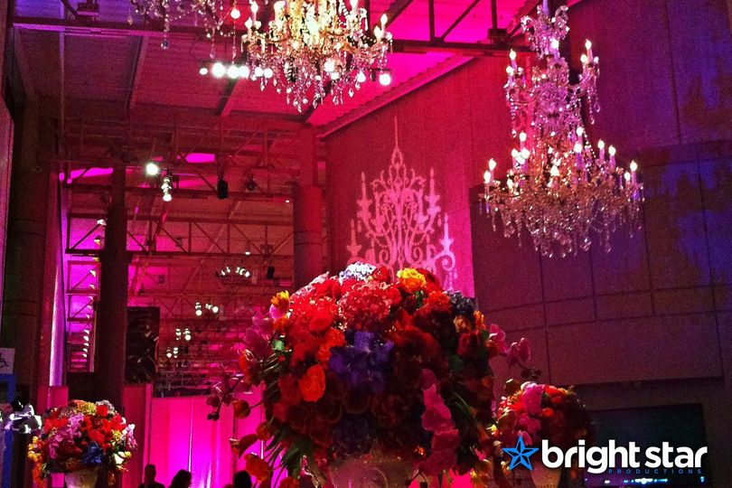 Gorgeous Colors & Chandeliers