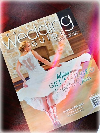 Find us in the Texas Wedding Guide