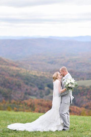 Wonderful mountain wedding!