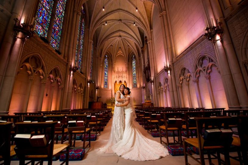 Newlywed couple | Photo credit: Brian MacStay Photography