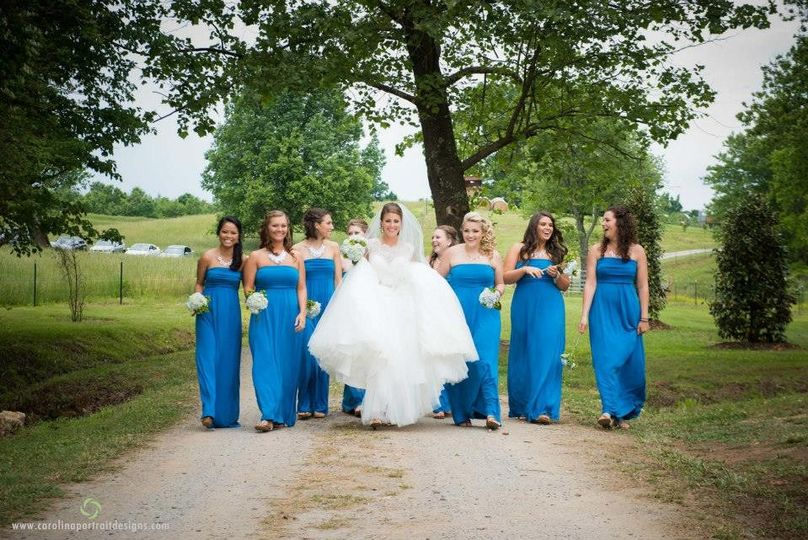 Blue Willow Events | CarolinaPortraitDesigns #outdoorwedding #rusticwedding #northcarolinaweddings...
