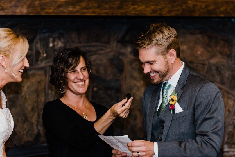 Boettcher Mansion wedding ceremony