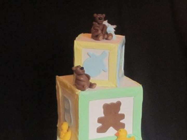Tmx 1307561114781 BabyBlockCake Hollis wedding cake