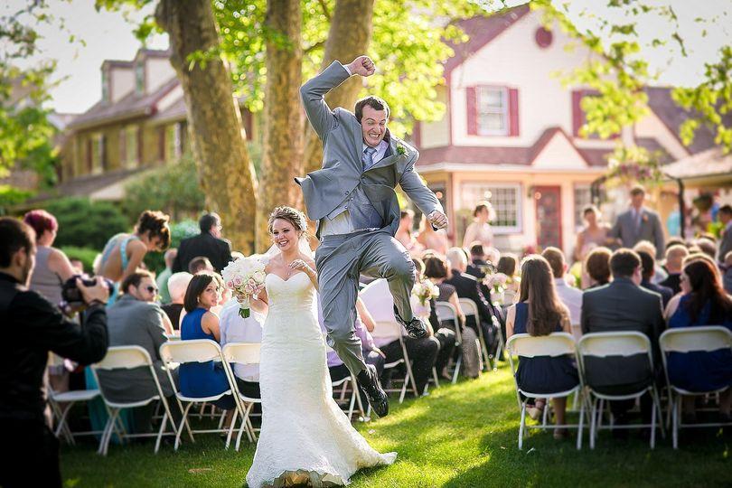 Joseph Ambler Inn Wedding