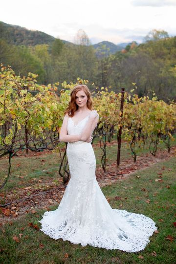 Rustic wedding dress 6