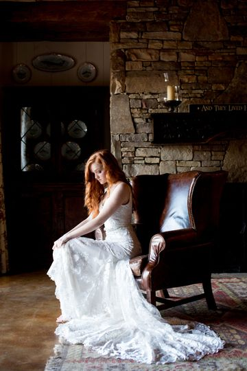 Rustic wedding dress 7