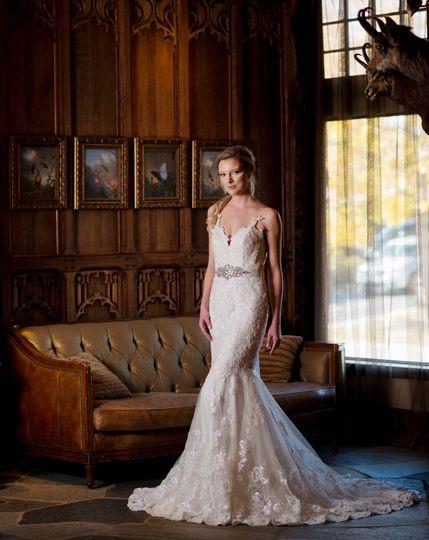 Chapel wedding dress 2