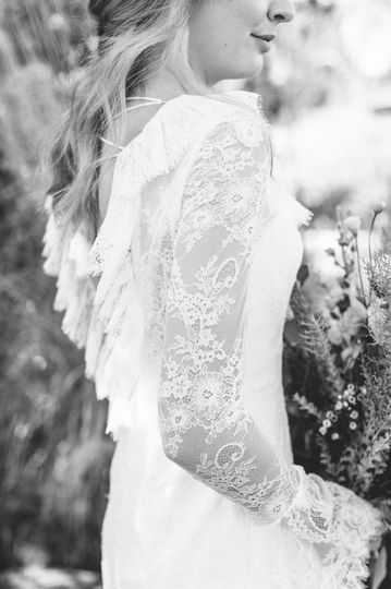 Boho wedding dress2
