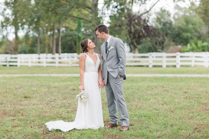 The bride and groom (Kelley Stinson Photography)