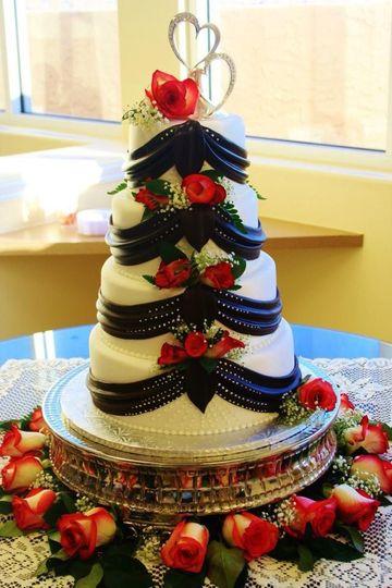 smith wedding cake