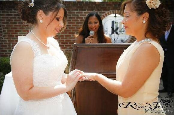 Iris and Eve Soto-Cruz's Wedding Ceremony at F&J Pine's Restaurant Bronx, NY Saturday, September 20,...