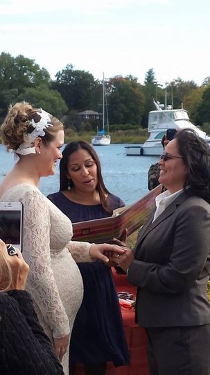 Darlene & Rosa Torres-Alicia Saturday October 12, 2013 Mamaroneck Harbor Island Park