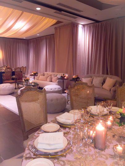 Ballroom lounge style