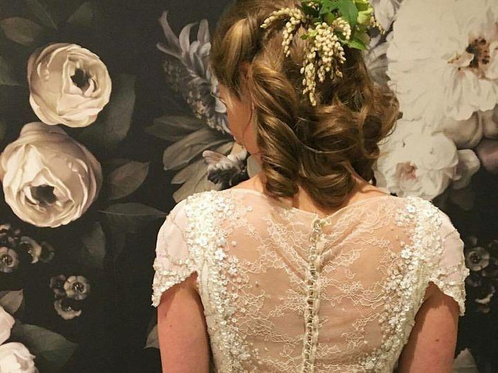 Tmx 1536591051 6b4952fcd528b476 1536591050 81149f06f294617b 1536591050394 12 Bridal Back Hair Canton, GA wedding beauty