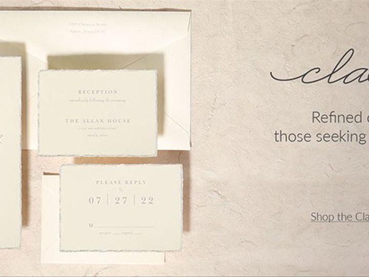 Tmx Classicbanner 51 174362 1570118452 Grandville, MI wedding invitation