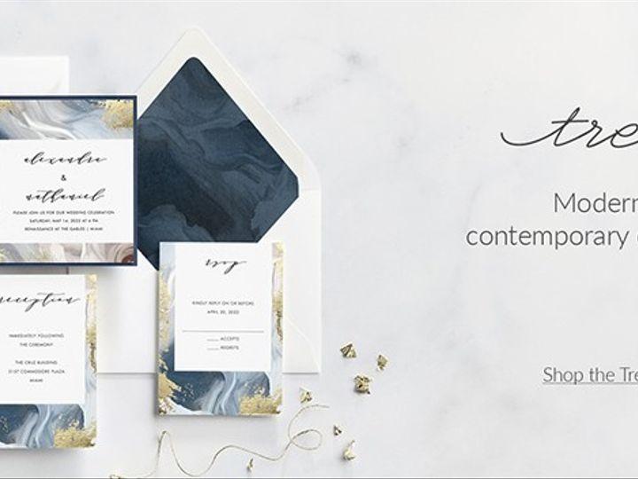 Tmx Trendbanner 51 174362 1570118452 Grandville, MI wedding invitation