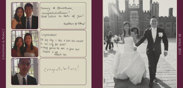A modern take on the traditional guestbook, our photo guestbooks include images of your guests with...