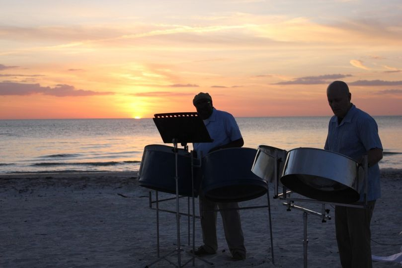 Bradenton Beach sunset performance