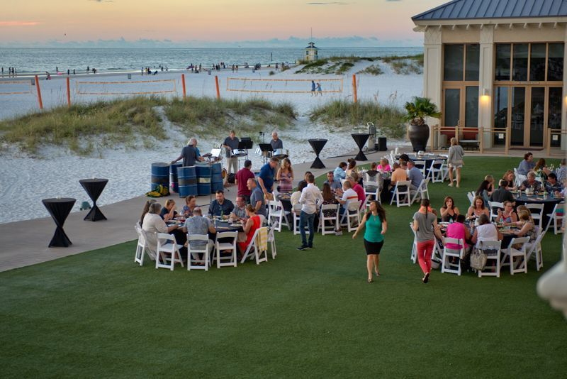 Reception at Sandpearl Clearwater Beach