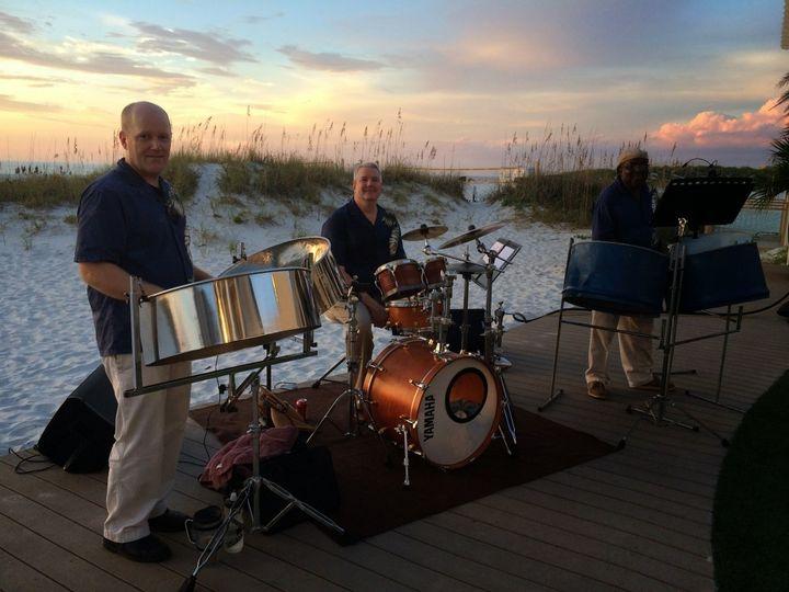 Tmx 1425655431925 Caladesi Steel Band Sandpearl Clearwater Beach Flo Dunedin, FL wedding ceremonymusic