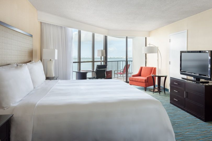 Well-appointed hotel rooms